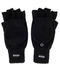 Grenade Convertible Gloves Black