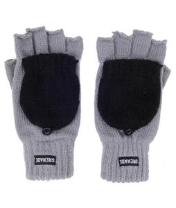 Grenade Convertible Gloves Charcoal