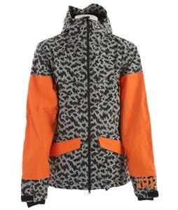 Grenade Decoater Snowboard Jacket Gray/Orange