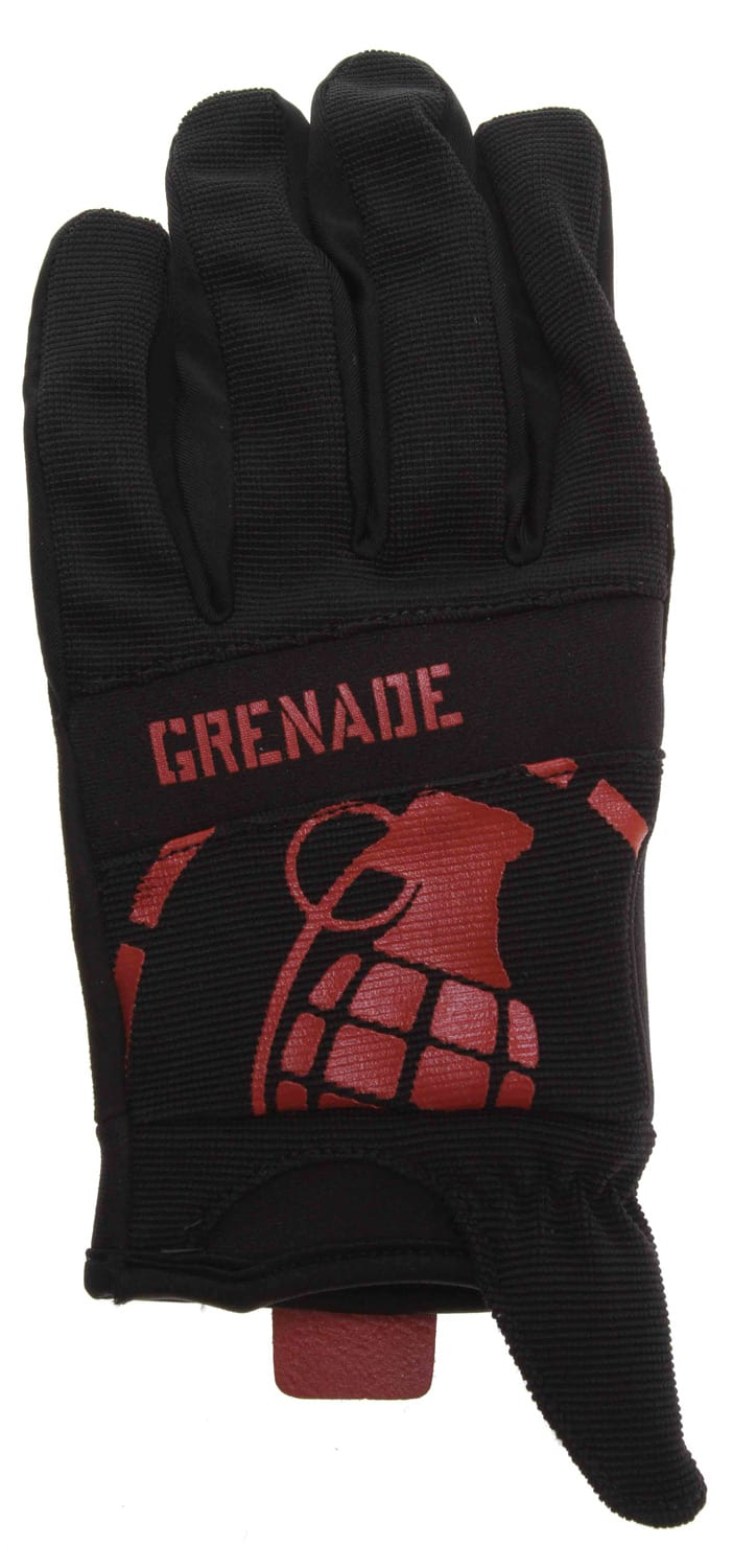 Shop for Grenade Disobey Bike Gloves Black/Red - Men's