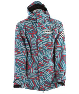 Grenade Doom Vision Snowboard Jacket Teal