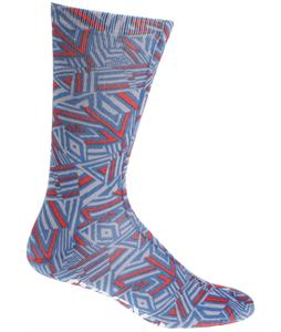 Grenade Doom Vision Socks Teal