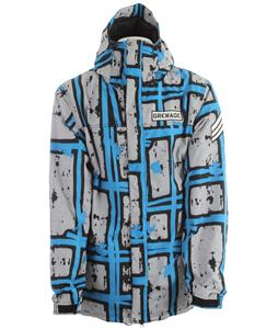 Grenade Doom Stripes Snowboard Jacket Blue