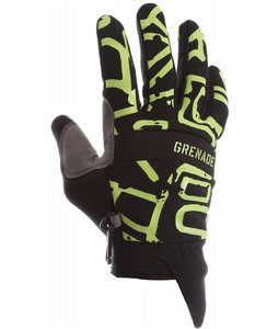 Grenade Draw Gloves Black/Gunmetal