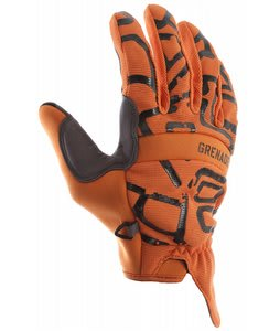 Grenade Draw Gloves Orange/Gunmetal
