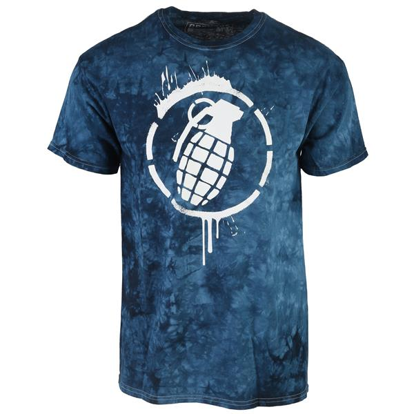 Grenade Drip Tie Dye T-Shirt