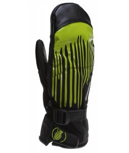 Grenade Dripper Mittens Black/Slime