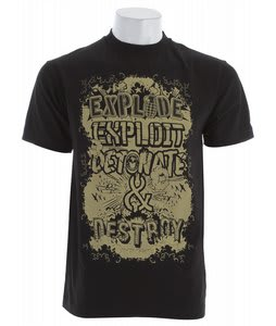 Grenade Eed&D T-Shirt Black