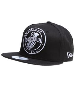 Grenade Emblem Cap Black
