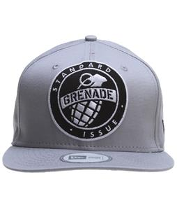 Grenade Emblem Cap Gray