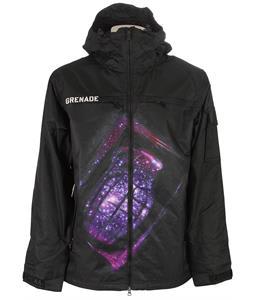 Grenade Exploiter Snowboard Jacket Galaxy Black