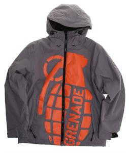 Grenade Exploiter Snowboard Jacket Gunmetal/Orange