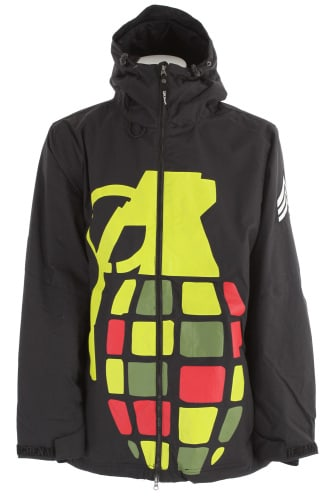 Grenade Exploiter Snowboard Jacket Rasta