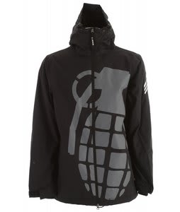 Grenade Exploiter Snowboard Jacket Black