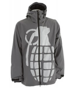 Grenade Exploiter Snowboard Jacket Grey
