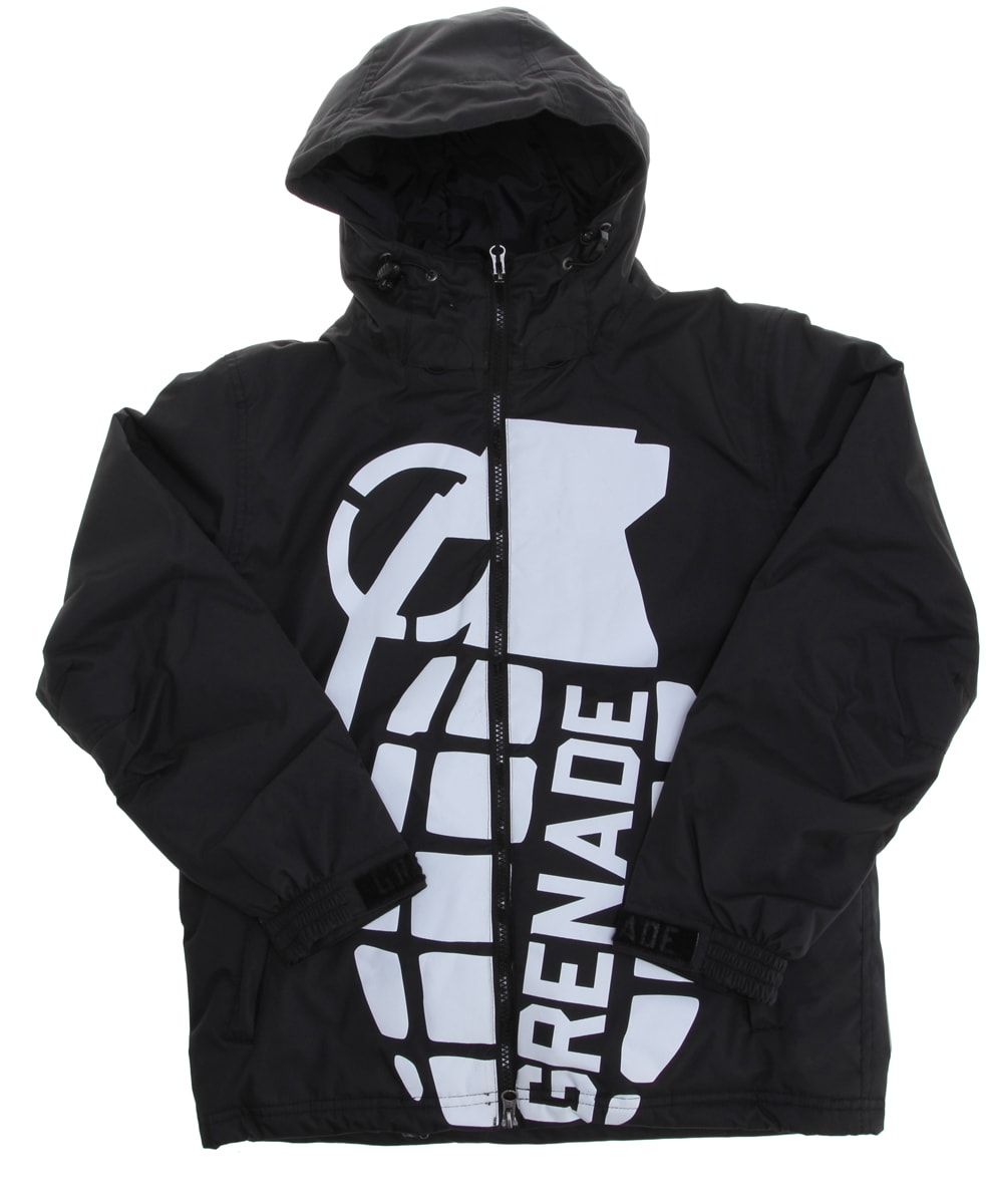 Shop for Grenade Exploiter Snowboard Jacket Black - Kid's