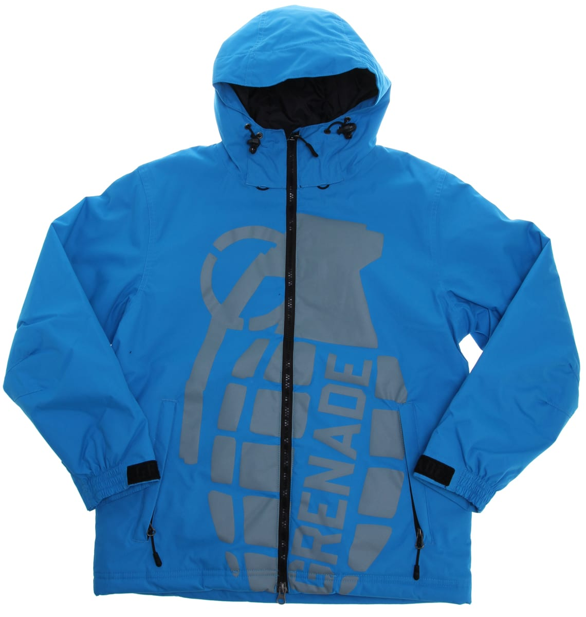 Shop for Grenade Exploiter Snowboard Jacket Blue - Kid's