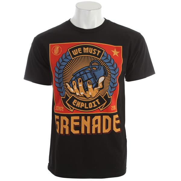 Grenade Exploit Poster T-Shirt