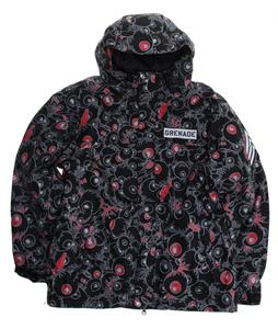Grenade Eyeballs Snowboard Jacket Black
