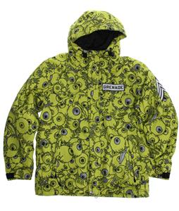 Grenade Eyeballs Snowboard Jacket Slime