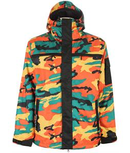 Grenade Fatigue Snowboard Jacket Rust