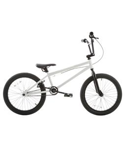 Grenade Flare X BMX Bike Snow White 20in/20.4in Top Tube