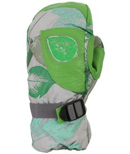 Grenade Flora Mittens Green