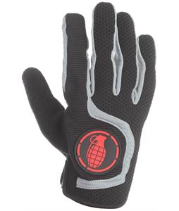 Grenade Flyer Bike Gloves Red