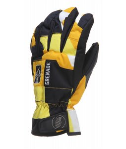 Grenade Fragment Gloves Yellow