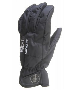Grenade Fragment Gloves Black
