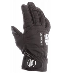 Grenade Fragment Mittens Black