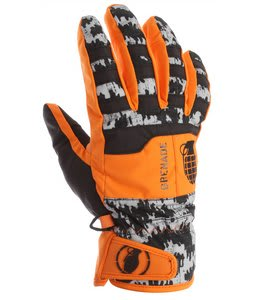 Grenade Fragment Gloves Orange/Shiver/Camo
