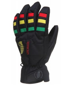 Grenade Fragment Gloves Rasta
