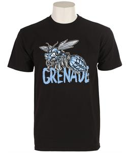 Grenade G.A.S. Ice Wasp T-Shirt Black
