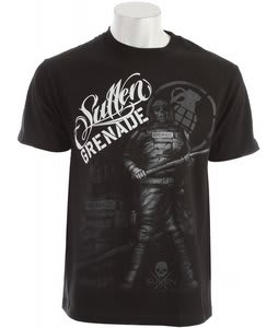 Grenade G.A.S. Sullen Enforcer T-Shirt Black