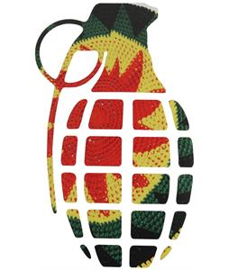 Grenade Gnarley Sticker Leaves 8.5in