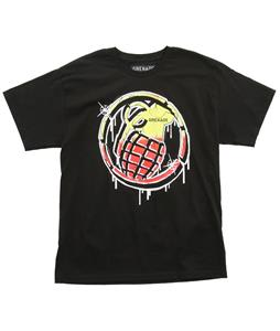 Grenade Graffiti Stenz T-Shirt Black