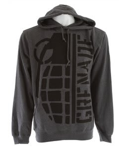 Grenade Half Bomb Hoodie Charcoal