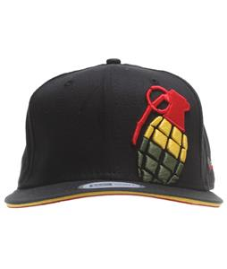 Grenade Halfer Irie Cap Black