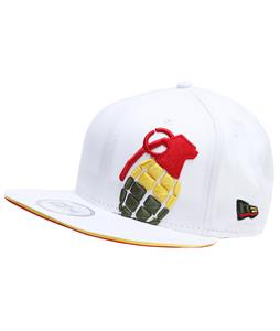 Grenade Halfer Irie Cap White