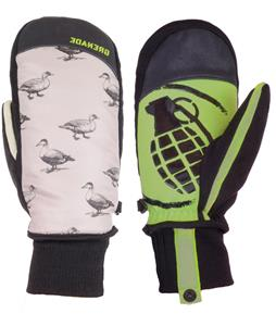 Grenade Hunter Mittens Gray