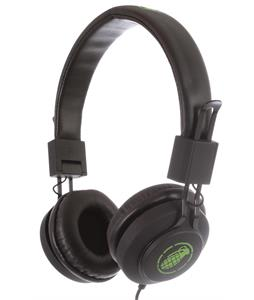 Grenade Launch Headphones Black/Green