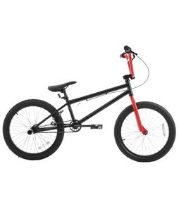 Grenade Launch X BMX Bike Black Coal 20in/20.4in Top Tube