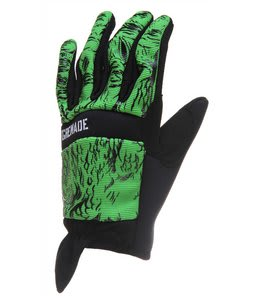 Grenade Lizard CC935 Gloves Green