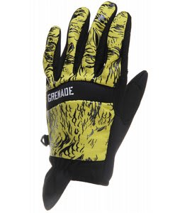 Grenade Lizard CC935 Gloves Yellow