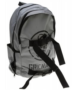 Grenade Logo Backpack Gray/Black