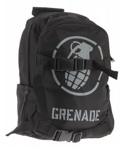 Grenade Logo Backpack Black/White