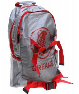 Grenade Logo Backpack Gray