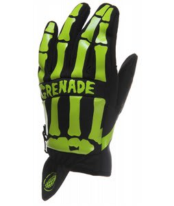 Grenade M Out Gloves Skull Print