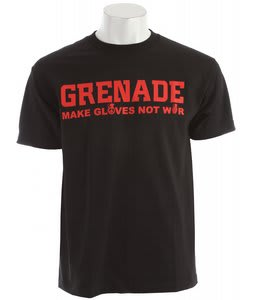 Grenade Make Gloves T-Shirt Black